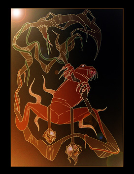 The Frog - teckning av Joel Öhrn